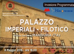 Invasioni Digitali - Palazzo Imperiali-Filotico