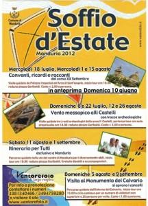 Soffio d'estate 2012 - Programma