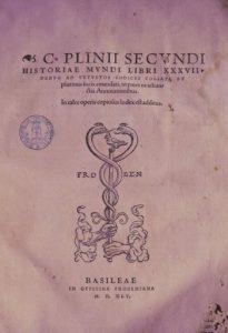 Biblioteca Marco Gatti Plinio il Vecchio