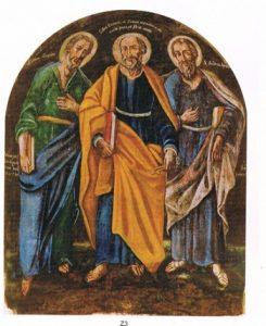 San Pietro dipinto